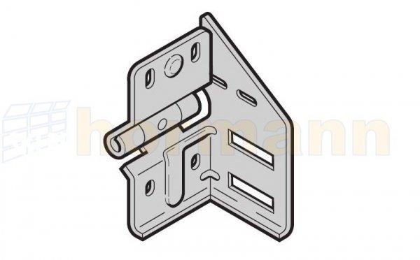 Wspornik rolki pośredni typ 4 prowadzenie N, BL, Z, BZ wersja prawa