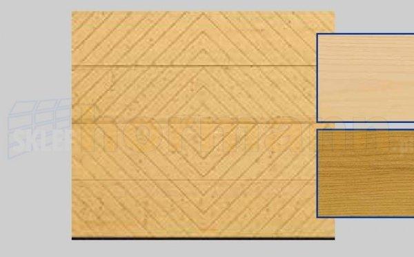 Brama LTH, 2500 x 2125, Wzór 402, Świerk