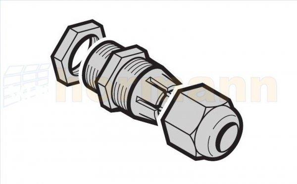 Połączenie śrubowe do kabli M25 do Portronic D 5000 / D 2500