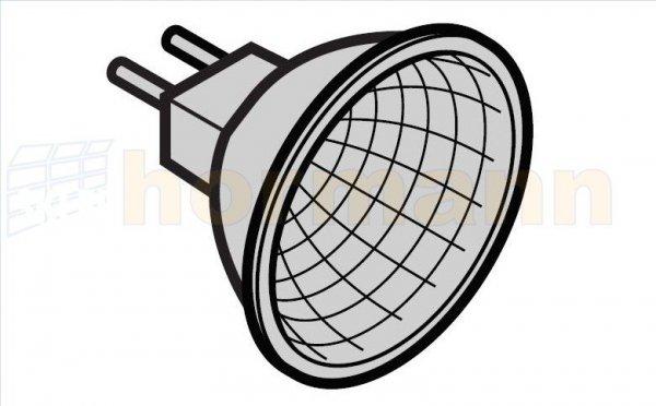 Zimna lampa z wbudowanym reflektorem do SupraMatic (seria 2 / seria 3)