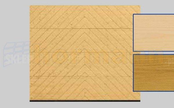 Brama LTH, 2500 x 2125, Wzór 401, Świerk