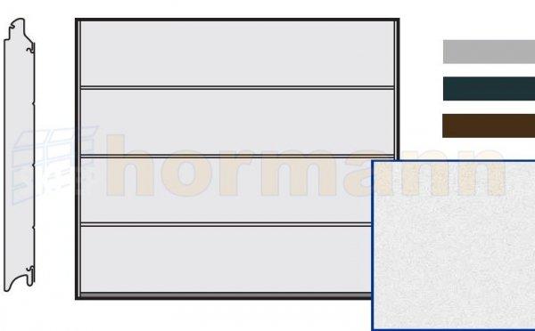 Brama LPU 42, 2375 x 2000, Przetłoczenia L, Sandgrain, kolor do wyboru