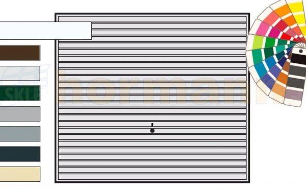 Brama uchylna N 80, 2375 x 2125, Wzór 968, kolor do wyboru