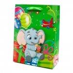 Torebka prezentowa 3D dziecięca, słoń