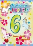 Kartka Z okazji urodzin 6
