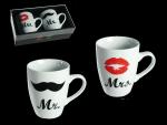 Zestaw 2 kubków' Mr & Mrs'