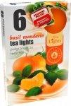 PODGRZEWACZ 6 SZTUK TEA LIGHT Basil mandarin