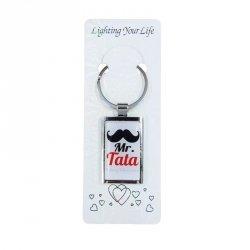 Zawieszka brelok żelowy prostokąt Mr Tata
