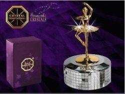 Pozytywka baletnica - products with Svarowsky Cristal