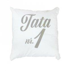 TATA NR 1 Poduszka bawełniana dwustronna