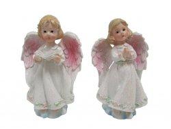 Komplet 2 sztuk figurka aniołek