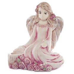 Anioł z różami
