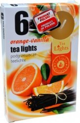 PODGRZEWACZ 6 SZTUK TEA LIGHT Orange-Vanilla
