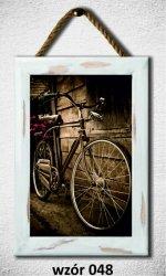Drewniana tabliczka MDF Rower