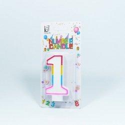 Świeczka urodzinowa '1 '