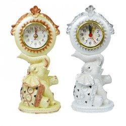 Zegar słoń mix kolorów