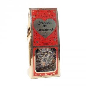 Wyjątkowa herbatka kwiatowa w złotym opakowaniu dla Zakochanych