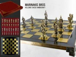 Szachy - Trojan War Chess Set