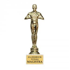 Statuetka  'Za osiągnięcie tytułu Magistra''