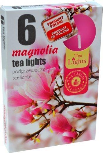 """PODGRZEWACZ 6 SZTUK TEA LIGHT """"Magnolia"""""""