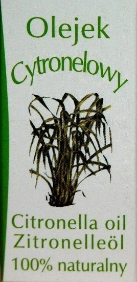 Olejek naturalny 100% CYTRONELOWY