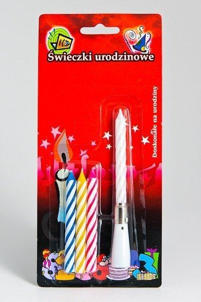 Świeczka Urodzinowa Grająca + zapas