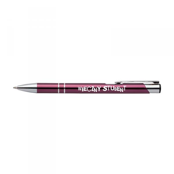 Długopis z nadrukiem 'Wieczny student'