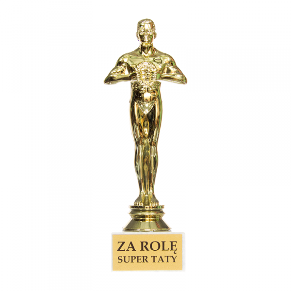 Statuetka  'Za rolę Super taty'