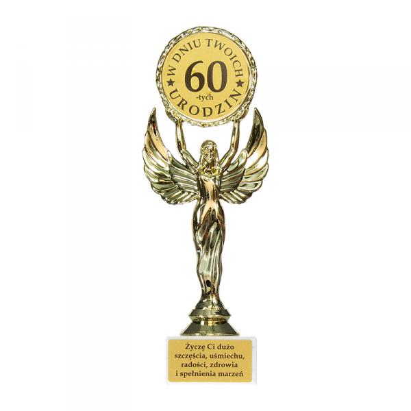 Statuetka Victoria 'W dniu Twoich 60-tych urodzin'