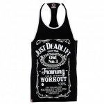 POUNDOUT Tank Top Stringer JUST DEADLIFT