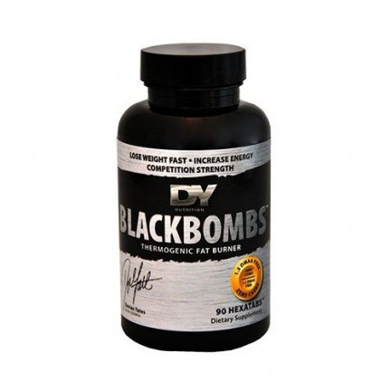 Dorian Yates Black Bombs 90 tabletek Termogenic Fat Burner