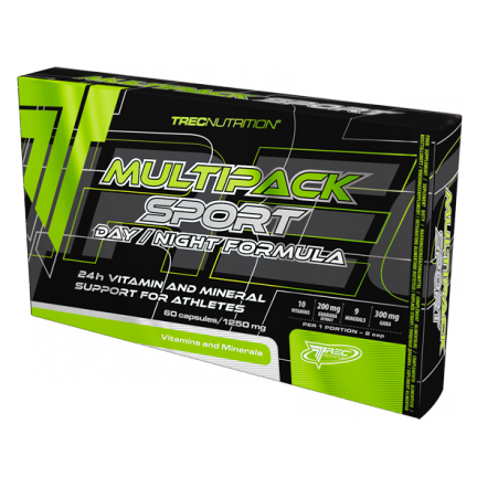 Trec Nutrition MULTIPACK SPORT - DAY / NIGHT FORMULA (60 CAPS.)