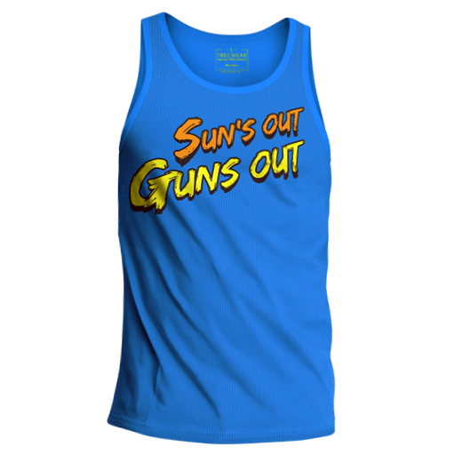 "Trec Wear Tank Top 005 ""Suns"" - Niebieski"